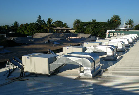 SolarCool Rooftop Referenzinstallation