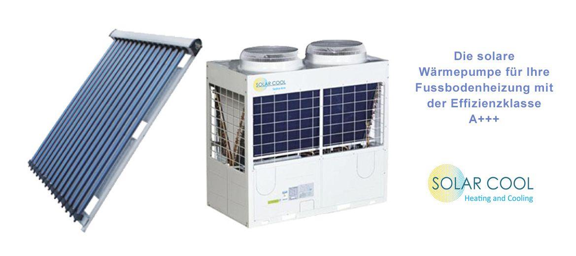 Integrieren Sie die SolarCool Technologie in Ihr Fussbodenheizsystem und sparen Sie Heizkosten